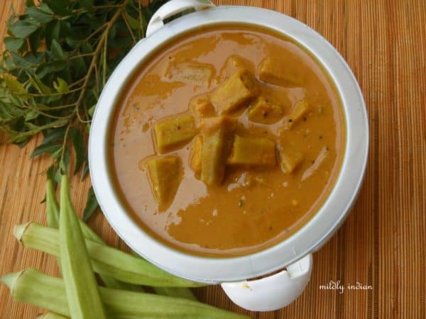 coconut milk sambhar