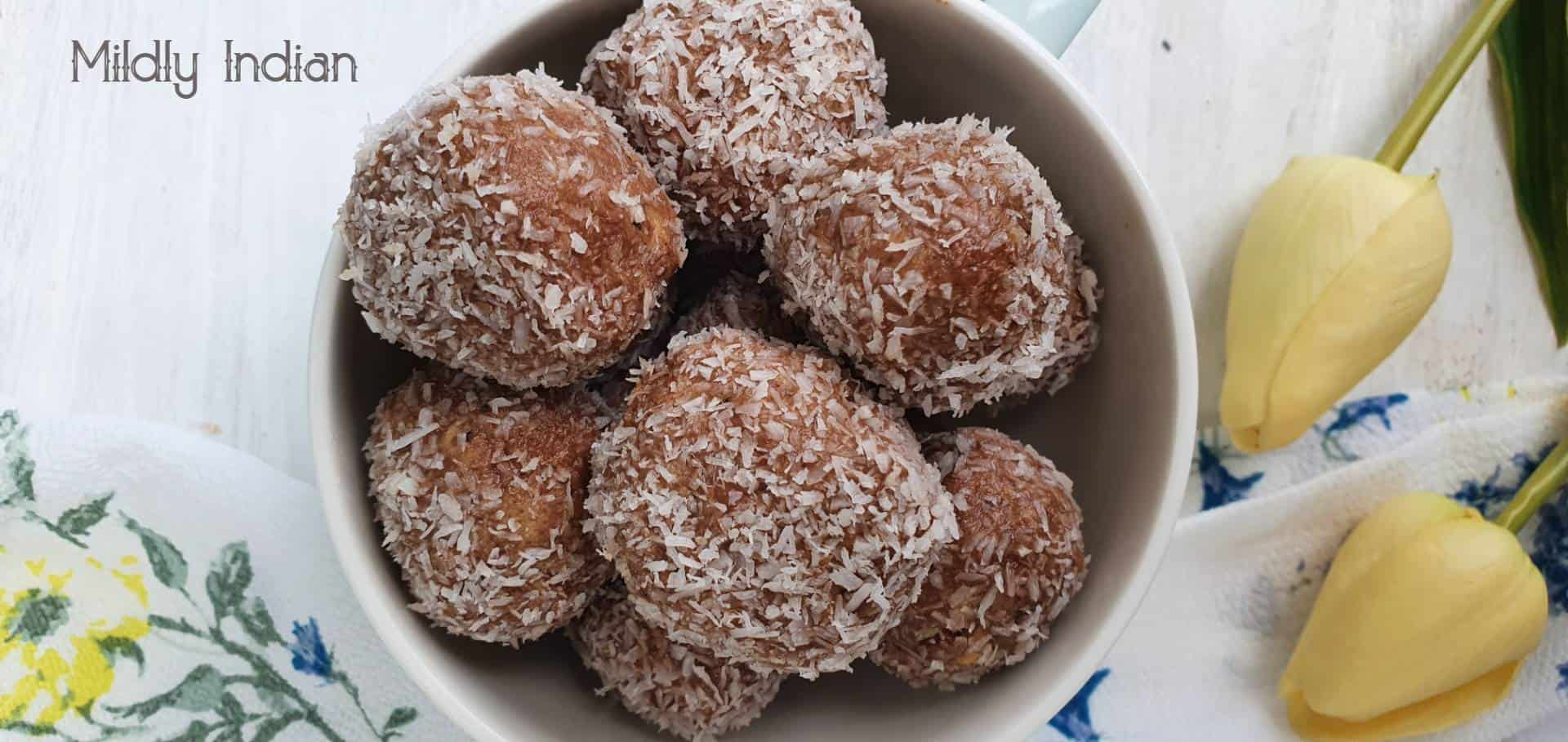 cocoa nibs and lime bliss balls